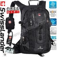 Brand SwissLander Swiss lander 15.6 inch men laptop backpack 15.6'' inches women notebook bag pack school travel sport backpack