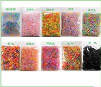 Super Cheap 2400pcs/bag  Colorful Rubber Loom Bands Kit Kids BOX ! DIY Charm Bracelet !Powerful Gift!Free Shipping!
