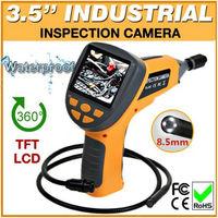 "Free Shipping!8.5mm Smaller Dia 3.5"" TFT LCD Video Inspection Endoscope Tube Camera Borescope"