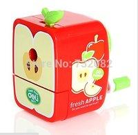 Fruits Pencil Sharpener Hand Crank Manual Desktop School Stationery Kids E5630