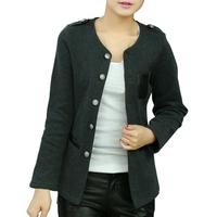 Korean Style Women Suit Jacket Slim Jackets Plus Size L-5XL New Fashion Epaulettes Design Lady Thin Coats Autumn Cardigans
