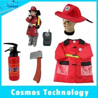 Fireman Sam Kids Halloween Cosplay Costume for Fancy Dress  (4-6 years)