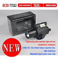 Tactical  LED Flashlight & Red Laser Sight BLACK for pistol+Free Shipping Free Gift For Order FByth-564(BOB-JGSD)