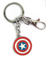 Cheap price The Avengers Captain America Steve Rogers movie Marvel accessory key chain TA20