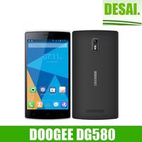 "In Stock Original Doogee KISSME DG580 Android 4.4 5.5"" Inch MTK6582 Quad Core mobile Phone 3G 1GB RAM 8GB ROM 8MP WCDMA"