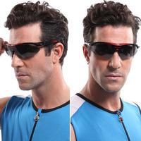 2014 Yomsong Polarization Cycling Glasses Men And Women Night Riding Eyeshield Cycling Eyewear 3 Color Blue Red