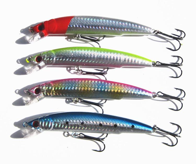 promoção! 4pcs/lot pesca iscas 11,5 cm 18g peixinho isca artificial gabar
