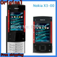 Original Mobile Phone Nokia X3 X3-00 GSM Phone Silder Mobile unlocked Free Shipping