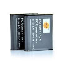 2PCS DSTE NP-BK1 Li-ion Battery compatible for Sony Cyber-shot DSC-S750, DSC-S780, DSC-S950, DSC-S980, DSC-W180