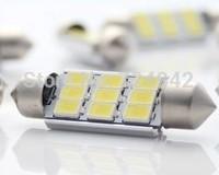Free shipping 36MM 10-14V 9LED highlight lamp / reading lamp interior lights / modified car interior decoration lamp