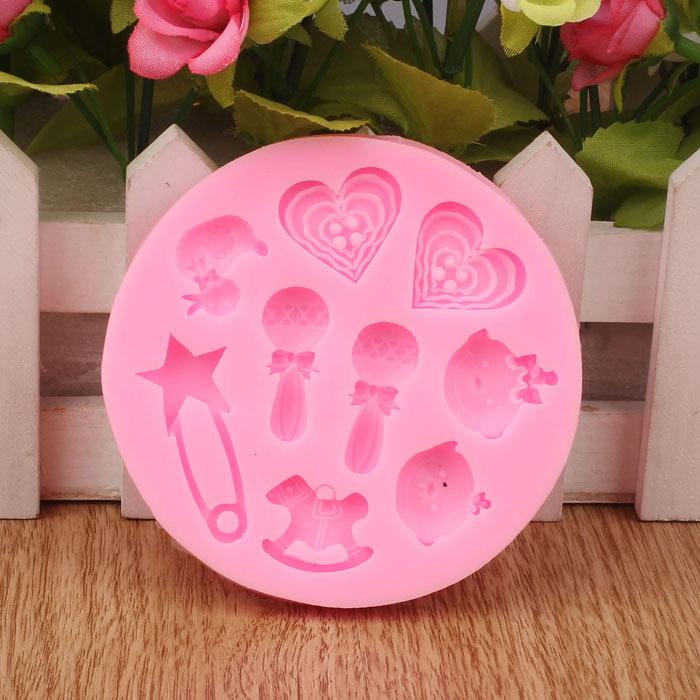 venda quente 2014 apressado yang bakeware cortador de biscoitos em forma de coração bolo muffin ícone chocolates liner queque molde de cozimento(China (Mainland))