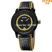 EYKI Brand Florescence Color Number Ladies Men's Watch Digital Date Display Casual Wrist Watch reloj de madera