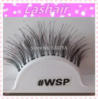 #WSP individual false eyelashes human hair eyelash extension cherry lash