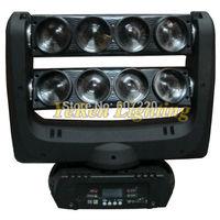 Beam Led Moving Head Light Double Head  RGBW quad color LED Spider Light DJ effect lights