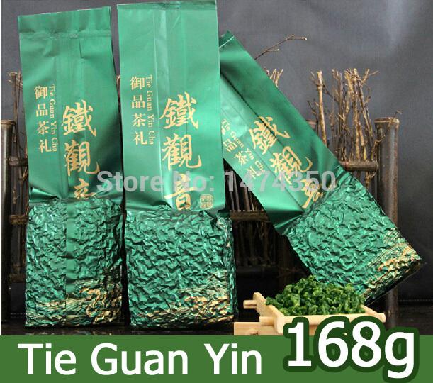 Fragrance China tieguanyin tea oolong tea 168g Chinese fujian organic tie guan yin tea for man and women health care wulong(China (Mainland))