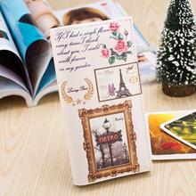 carteras de mujer nuevo 2014 linda dama moda bolso diseño del embrague cartera pu cartera de cuero mujer titular de la tarjeta vintage bolsa 22 color(China (Mainland))