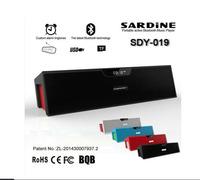Original Nizhi Sardine SDY-019 Speaker HIFI Portable Bluetooth Speaker FM Radio Wireless Stereo Sound Box With Mic 5W*2 Output