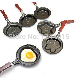 2 шт./лот 5 стили творческий омлет пан антипригарным и бездымного мини яйцо сковорода для теплый завтрак плесень M1289