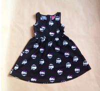 Wholesale Monster.High Original t shirts girls clothing Baby Girls Short Sleeve T-shirts for girls 3-8Y Free Shipping DA358