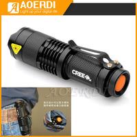 Super Bright 7W 450LM CREE Q5  LED Torch Cycling Bike Bicycle Head light Flashlight  1-Modes