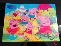 Educational Kids Boys Girls Cute Peppa Pig Jigsaw Puzzles Game DIY Toy 40 Pcs chirstmas gift