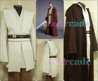 New Star Wars Obi-Wan Cloak Suits Kenobi Jedi Knight Halloween Cos Dress-Up Set cosplay costume Fantasy
