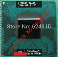 Original Core 2 Duo T7600 CPU (4M Cache, 2.33GHz, 667MHz FSB, SL9SD ) PGA478,TDP 34W,Laptop CPU Compatible 945GM 945GME 945PM