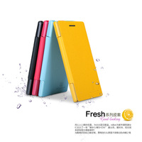 Special offer! For Huawei Ascend P2  NILLKIN fresh series leather Case Cover