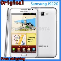 Original Phone Samsung Galaxy Note I9220 N7000 E160S/K/L Cell phone Camera 8MP 5.3''1GB RAM 16GB ROM 3G WIFI GPS Refurbished