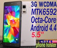 "Octa Core mtk6592 JIAKE P780 S phone Ram 2GB Rom 8GB Android 4.4 3G GPS WCDMA 5.5""HD 1920*1080 screen 13MP"
