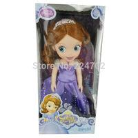 With Box 12 inch Sofia Princess Doll Toys Sofia The First Doll Sofia Princess Sharon Doll Good Girl Doll For Girls Free Shipping