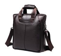 HQ Male Genuine Leather Tote, Business Shoulder Bags,Black Handbag For Men,Brown man Messenger Bag,men's travel bags