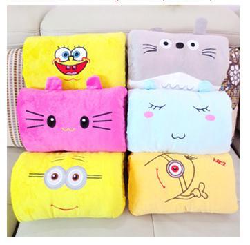 brinquedos de pelúcia cartoon presente de natal seu travesseiro almofada para inclinar-se de bonito amarelo pequeno estudantes homem w-31 presente de aniversário(China (Mainland))