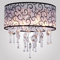 Modern crystal chandelier 110v bedroom lamp atmospheric restaurant lights living room lights