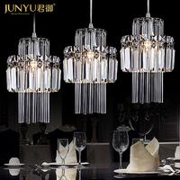 Prince Royal of modern simple restaurant chandelier three head crystal chandelier corridor lamp lighting lamps 4041 bar
