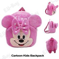 Children Minnie Mouse School Backpacks Bags Fleece Mochila Infantil Baby Girl Bolsas Mochilas School Kids