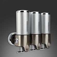 S1500ml Banheiro Lotion Dispenser,stainless steel 304+plastic Home Washroom Soap Sanitizer Bathroom Shower Shampoo Dispenser(China (Mainland))