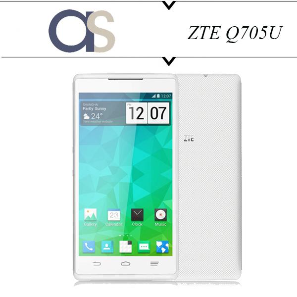 100 Original New ZTE Q705U Phone Android 4 2 2 MTK6582m Quad Core 1 3Ghz 4GB