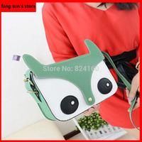 Free Shipping Hot Sale 2014 New Fashion Designer Lady's Shoulder Bags Casual Satchel Clutch Women Messenger Bag Handbags Fox