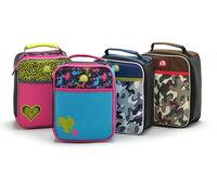 AC314 cute Waterproof Nylon kid School Cooler thermal bag Organizer Storage frozen lunch bag free shipping