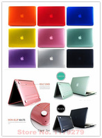 New arrival Transparent crysta shell Promotion Sales Transparent Case For MacBook Air 11.6 13.3 For Mac book Air  without logo