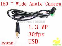 HD 1280*960 USB2.0 CMOS 1.3Mega Pixel  150 degrees wide Angle Lens Camera module Camera factory manufacturer  OEM Free shipping