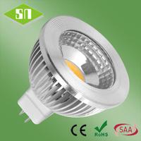 2014 hot sale cool white 450lm high power led mr16 cob 5w