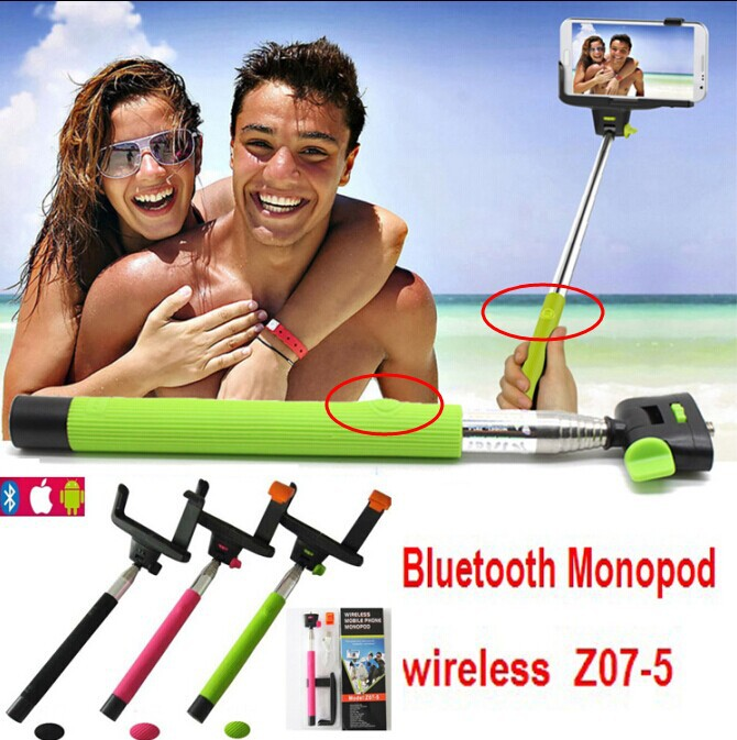Штатив Mobile phone bluetooth camera monopod 30 2 1 z07/5 selfie Bluetooth ios Android DHL Z07-5 e commerce 30sets z07 5 bluetooth iphone