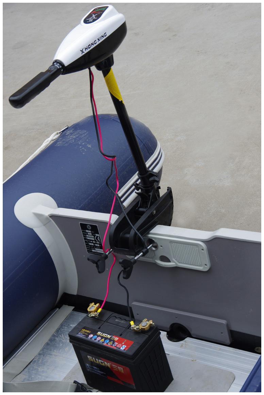 электромотор как основной двигатель для лодки