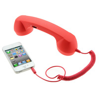 3.5mm Retro Mobile Phone Handset Anti-Radiation Handset For Most of All Kinds of SmartPhone , Popular Healthy Retro Handset