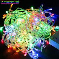 Hot sale 20M 200LED Bulbs Christmas Fairy Party String Lights Waterproof for EU 220V
