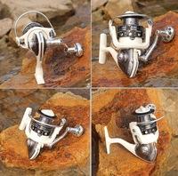 YK6000 14BB Gapless Spinning Fishing Reel CNC Aluminum Handle Left/Right White Molinete Pesca Ratio 4.7:1 Free Shipping