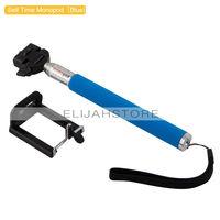 Extendable Handheld Flexible Telescopic Monopod +Tripod Adapter Holder For Gopro Sport Carmera SJCAM SJ4000 Camera Accessories