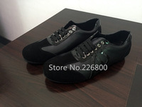 Hot sale 2015 new famous brand designer leather luxury black cool men Casual flat with shoes aj-0D02